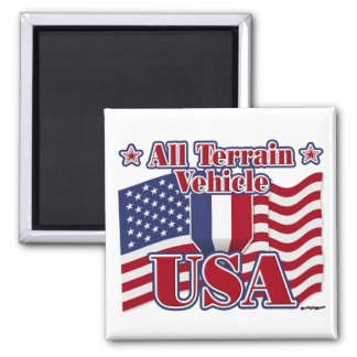 All Terrain Vehicle USA Refrigerator Magnets