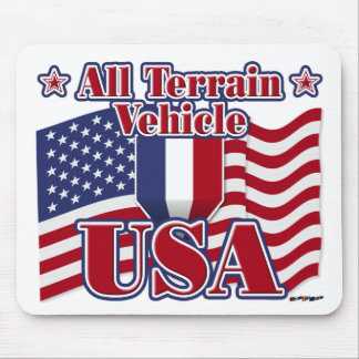 All Terrain Vehicle USA Mouse Pad