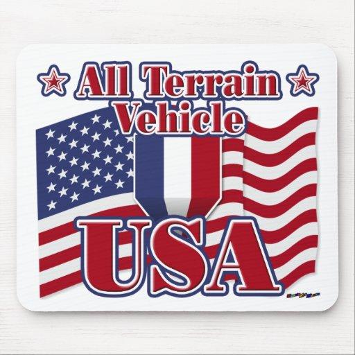 All Terrain Vehicle USA Mousepads