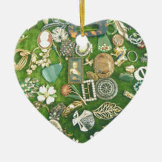 All That Glitters Ceramic Heart Decoration