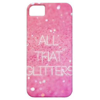 """""""All That Glitters"""" iPhone Case"""