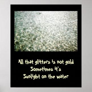 All That Glitters Print
