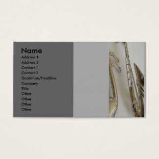 All that Jazz Business Card