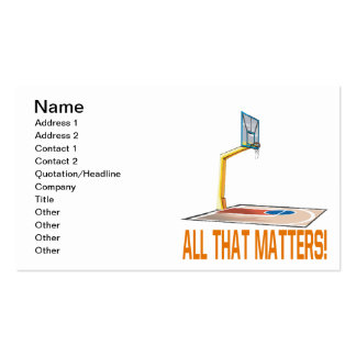 All That Matters Pack Of Standard Business Cards