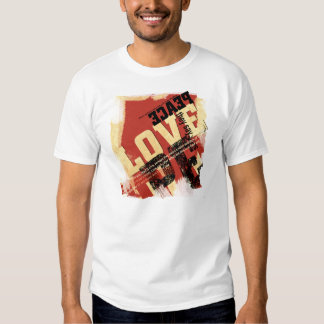 All That Peace and Love T-shirts