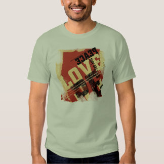 All That Peace and Love Tee Shirt