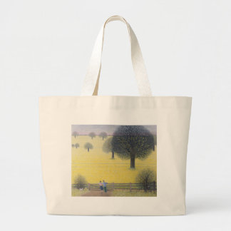 All That Yellow Large Tote Bag