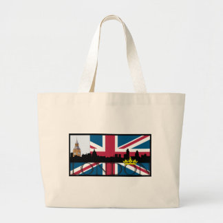 All That's London Jumbo Tote Bag