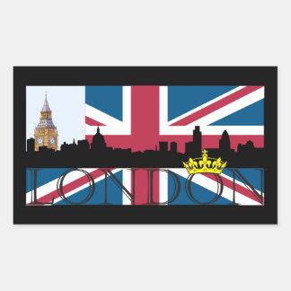 All That's London Rectangular Sticker