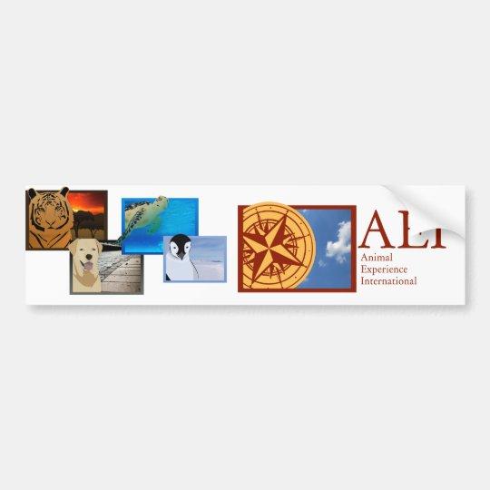 All The Animals Sticker Bumper Sticker