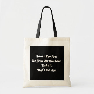 All The Beer Funny Budget Tote Bag