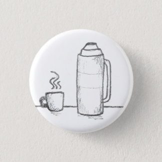 All the Coffee 3 Cm Round Badge