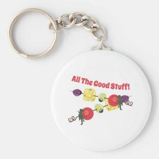 All The Good Stuff Key Chain