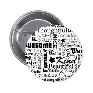All the Good Things About You 6 Cm Round Badge