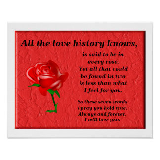 All the love history knows poster