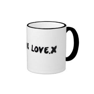 All The Love.x Ringer Mug