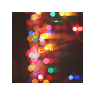 All the Pretty Lights Wrapped Canvas Stretched Canvas Print