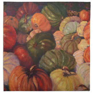 All the Pretty Pumpkins, Half Moon Bay Napkin