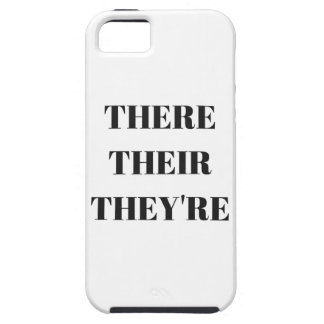 All The There Grammar Humor Text Illustration Case For The iPhone 5