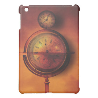 All the Time in the World Steampunk Clock Globe iPad Mini Case