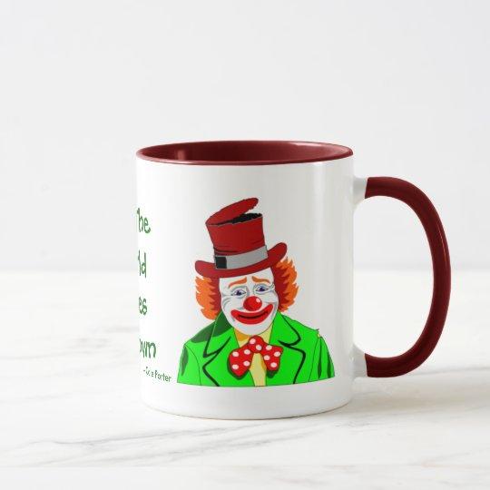 All The World Loves a Clown Ceramic Mug
