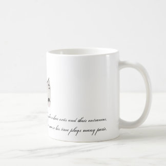 All the world's a stage basic white mug