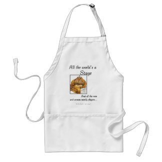 All the worlds a stage standard apron
