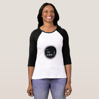"""""""All things are possible"""" Bible verse T-Shirt"""