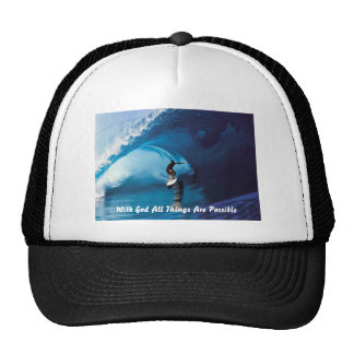 All Things Are Possible Mesh Hat