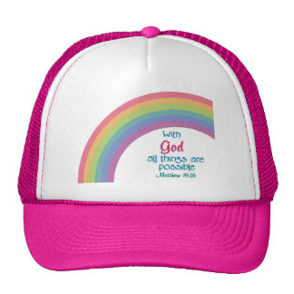All Things are Possible Trucker Hat
