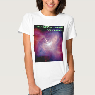 all things are possible womens shirt