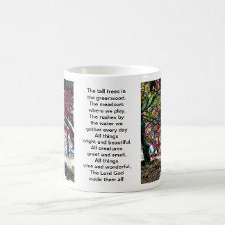 All Things Bright and Beautiful Classic White Coffee Mug