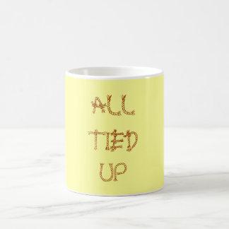 All Tied Up coffee mug