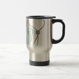 All Tied Up Stainless Steel Travel Mug