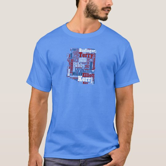 All Time Arizona Wildcats Basketball Greats T-Shirt