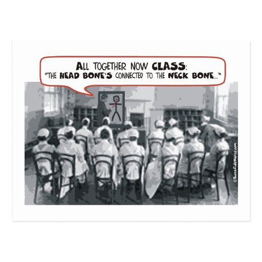 All Together Now Nursing Class Postcards