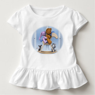 All together on the rocking horse toddler T-Shirt