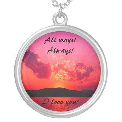 All ways pendants