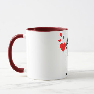 all we need is love mug