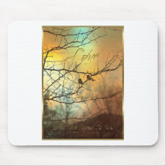 All We Need Is Us - A Card for someone Special Mouse Pad