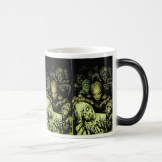 All we want to do is eat your brains morphing mug