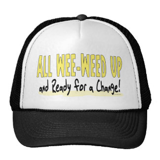 All Wee-Weed Up Baby Barack Obama Hat