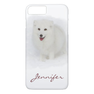 All White Arctic Fox iPhone 8 Plus/7 Plus Case