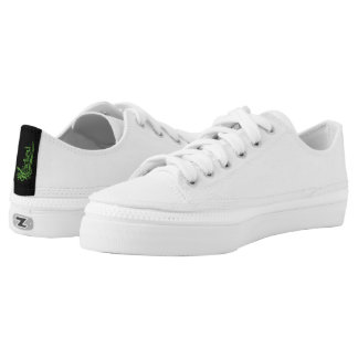 All White Canvas Sneakers