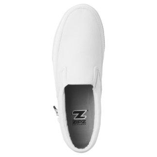 All White Sneakers (slip on)