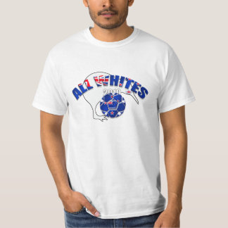 All Whites 2010 graphic artwork kiwi Tshirts