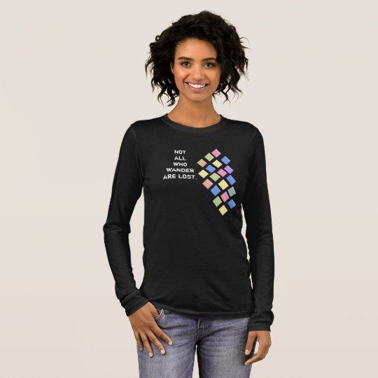 All Who Wander - - Ladies T-shirt