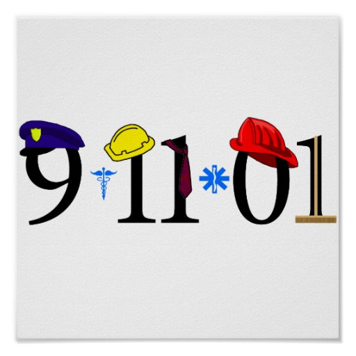 All who were lost 9-11-01 poster
