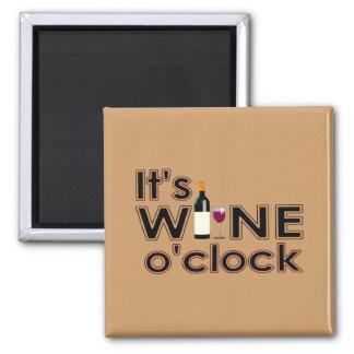 All Wine All the Time Fridge Magnet