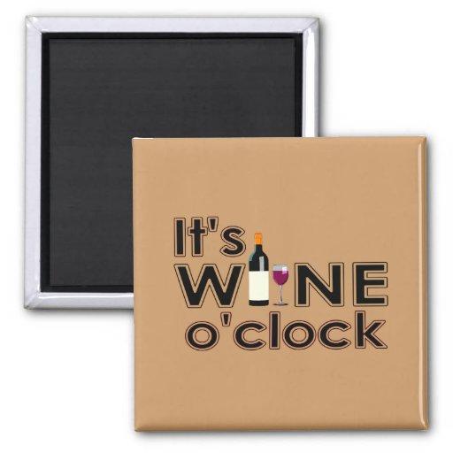 All Wine, All the Time Fridge Magnet